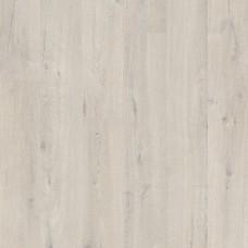 Плитка ПВХ Quick-Step Дуб хлопковый белый коллекция Pulse Rigid Click RPUCL40200