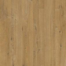 Плитка ПВХ Quick-Step Дуб хлопковый бежевый натуральный коллекция Pulse Rigid Click RPUCL40203