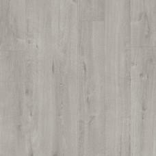Плитка ПВХ Quick-Step Дуб хлопковый светло-серый коллекция Pulse Rigid Click RPUCL40201