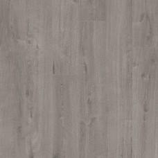 Плитка ПВХ Quick-Step Дуб хлопковый темно-серый коллекция Pulse Rigid Click RPUCL40202