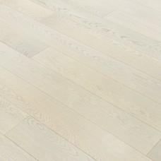 Инженерная доска Романовский паркет Дуб Нежно Серый (Дуб Mont Cenis) коллекция Proffi рустик лак 125 x 15 мм