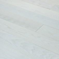 Инженерная доска Романовский паркет Ясень Розовый Жемчуг (Ясень Rosa Perle) коллекция Proffi 130 x 15 мм
