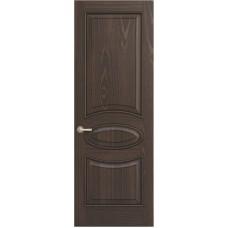 Межкомнатная дверь Sola Porte Алина 2 Дуб Мореный текстурный полотно глухое Багетная серия
