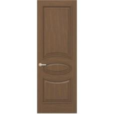 Межкомнатная дверь Sola Porte Алина 2 Орех лак полотно глухое Багетная серия