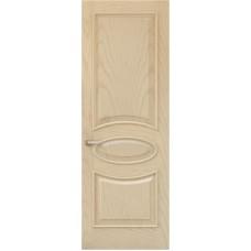 Межкомнатная дверь Sola Porte Алина 2 Ясень латте текстурный полотно глухое Багетная серия