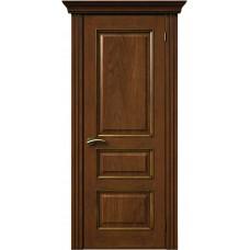 Межкомнатная дверь Sola Porte Кардинал 2 Орех лак полотно глухое Багетная серия