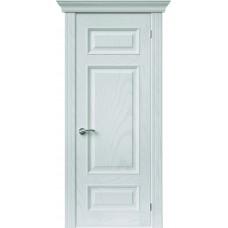 Межкомнатная дверь Sola Porte Кардинал 3 Ясень белый эмаль полотно глухое Багетная серия