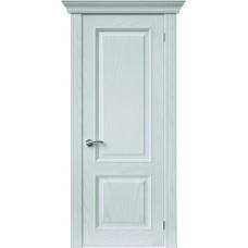Межкомнатная дверь Sola Porte Кардинал 4 Ясень белый текстурный полотно глухое Багетная серия