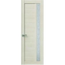 Межкомнатная дверь Sola Porte Корвет 1 Лиственница Экошпон пленка полипропилен полотно с остеклением серия Корвет