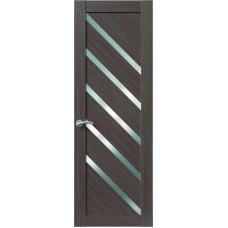 Межкомнатная дверь Sola Porte Корвет 10 Дуб серый Экошпон пленка полипропилен полотно глухое серия Корвет