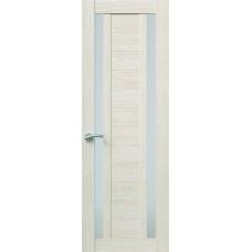 Межкомнатная дверь Sola Porte Корвет 2 Лиственница Экошпон пленка полипропилен полотно с остеклением серия Корвет