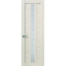 Межкомнатная дверь Sola Porte Корвет 4 Лиственница Экошпон пленка полипропилен полотно с остеклением серия Корвет