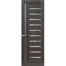 Межкомнатная дверь Sola Porte Корвет 6 Дуб серый Экошпон пленка полипропилен полотно глухое серия Корвет