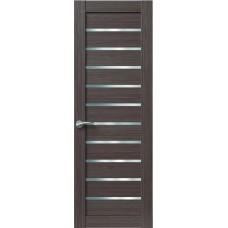 Межкомнатная дверь Sola Porte Корвет 7 Дуб серый Экошпон пленка полипропилен полотно глухое серия Корвет