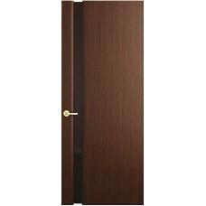 Межкомнатная дверь Sola Porte Мона 2 Венге шпон Файн-лайн лак полотно с остеклением серия Сборные двери