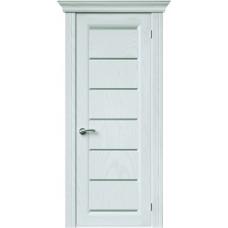 Межкомнатная дверь Sola Porte Премьер Ясень белый текстурный полотно глухое серия Сборные двери
