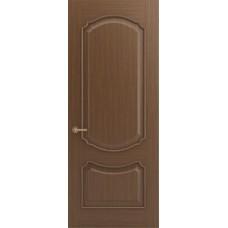 Межкомнатная дверь Sola Porte Версаль Орех лак полотно глухое Багетная серия