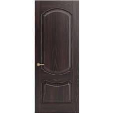 Межкомнатная дверь Sola Porte Версаль Венге лак полотно глухое Багетная серия
