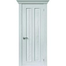 Межкомнатная дверь Sola Porte Вертикаль Ясень белый эмаль полотно глухое Багетная серия