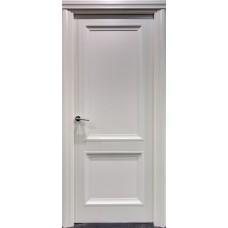 Межкомнатная дверь Свобода 173 Магнолия 9010 полотно глухое коллекция Eletti