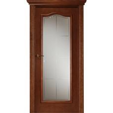 Межкомнатная дверь Свобода 301 Африкано 15.03 полотно с остеклением вид стекла ст.19 коллекция Eletti