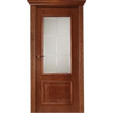 Межкомнатная дверь Свобода 302 Африкано 15.03 полотно с остеклением вид стекла ст.19 коллекция Eletti