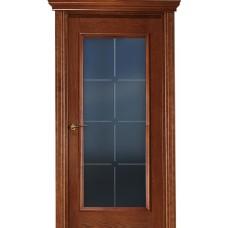 Межкомнатная дверь Свобода 303 Африкано 15.03 полотно с остеклением вид стекла ст.19 коллекция Eletti