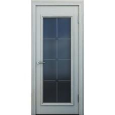 Межкомнатная дверь Свобода 303 Белый ясень 21.01 полотно с остеклением вид стекла ст.19 коллекция Eletti