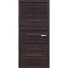 Межкомнатная дверь Свобода 206 Макассар 00.61 полотно глухое (2000х900) коллекция Loko
