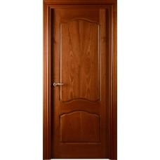 Межкомнатная дверь Свобода 782 Шпон красного дерева светлый 00.04 полотно глухое (2000х900) коллекция Valdo