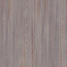 Паркетная доска Tarkett Дуб Облачный коллекция Rumba браш планк 14х120х1200