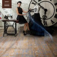 Паркетная доска Tarkett Дуб Вивьен Нью Лук коллекция Performance Fashion браш планк 2215х164х14