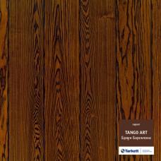 Паркетная доска Tarkett Ясень Браун Барселона браш коллекция Tango art 550059002 2215 x 164 x 14 мм