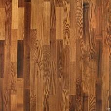 Паркетная доска Tarkett Ясень коньяк глянец коллекция Salsa 550049098 2283 x 194 x 14 мм