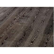 Паркетная доска Timberwise коллекция Однополосная Дуб классик Черно-белый брашированный 185 мм