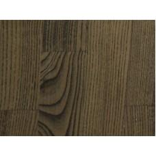 Паркетная доска Timberwise коллекция Трехполосная Дуб классик Эбен Черный брашированный