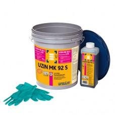 Двухкомпонентный высокопрочный полиуретановый клей Uzin MK92S 10 кг