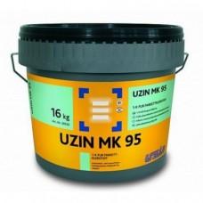 Однокомпонентный высокопрочный полиуретановый клей Uzin MK95 16 кг