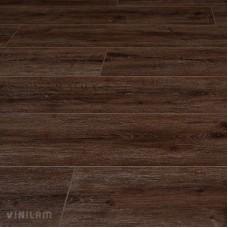 ПВХ плитка для пола VinilAm Дуб Лир с фаской коллекция Гибрид+пробка 7 мм 10-085V