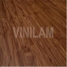 Плитка ПВХ VinilAm ОРЕХ МЕДОВЫЙ 60912 С клеевым замком серия под дерево