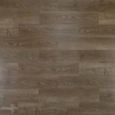 ПВХ плитка для пола VinilAm Дуб Гавр коллекция VinilPol Click 4,5 мм 2255
