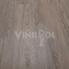 Плитка ПВХ VinilPol ДУБ ТУМАННЫЙ F1-1 405-7 Гибрид с механическим клик замком F1-1