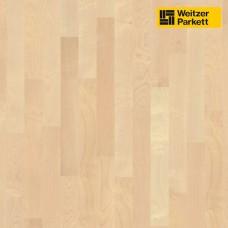 Паркетная доска Weitzer Parkett Bergahorn Клен горный select 15887 ProStrong Stab-Optik WP 450
