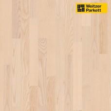 Паркетная доска Weitzer Parkett Esche Latte Ясень латте select 18539 ProActive+ Stab-Optik WP 450