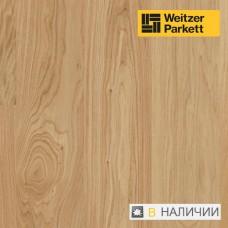 Паркетная доска с поглощающим звук слоем Weitzer Parkett Eiche Pure Дуб select 28861 ProActive+ WP 2.225