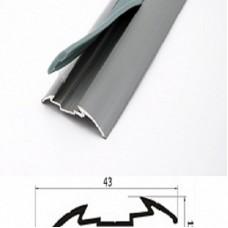 Порог алюминиевый Wonderful Vinyl Floor одноуровневый GA1 длина 1,8м 05-9